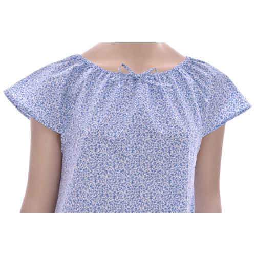 Chemise de nuit femme, Fleurs de Provence