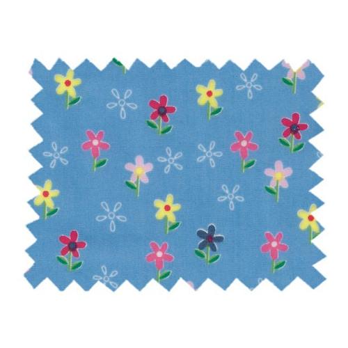 Tissu enduit au mètre, Fleurettes