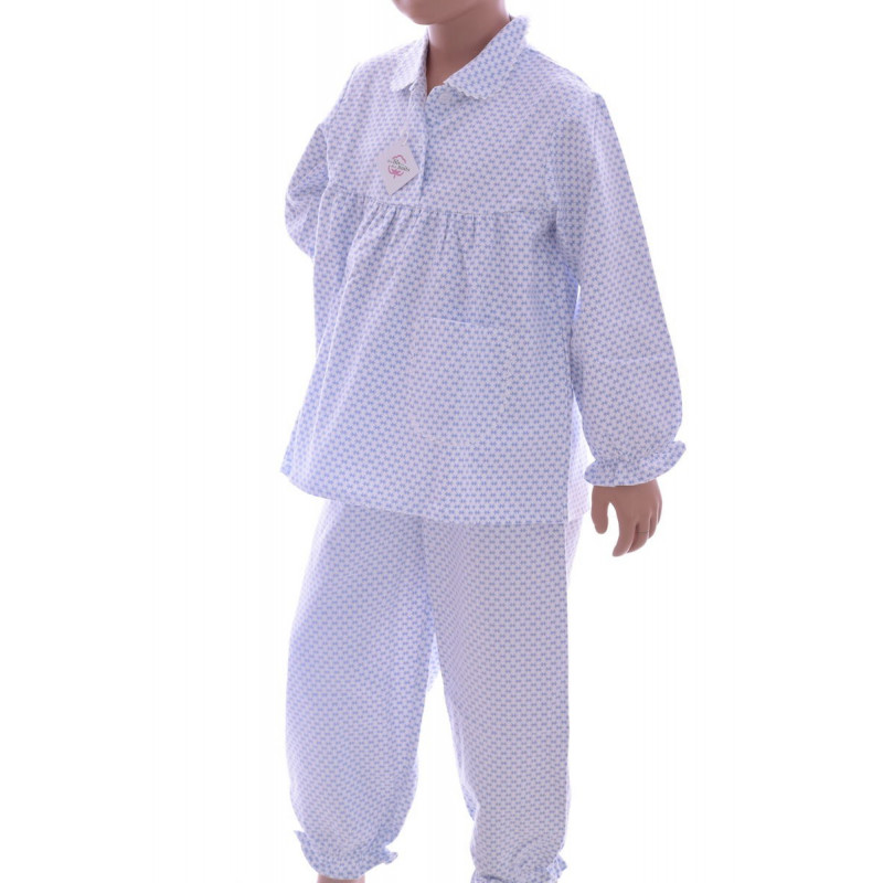 Pyjama long fille en pilou - Fish