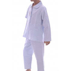 Pyjama long fille en pilou, Poissons