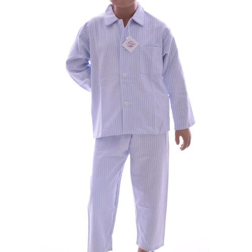 Pyjama long garçon en pilou, Morzine