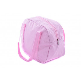 Sac week end en coton enduit, Confetti Rose