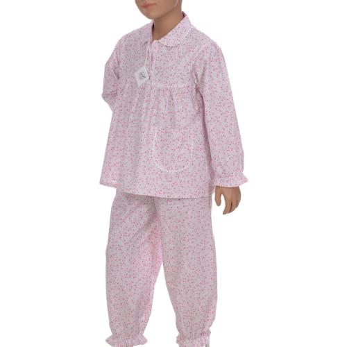 Pyjama long fille en coton Bio, Liberty