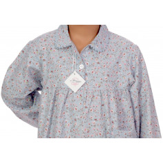 Chemise de nuit fille en coton Bio, Carmin