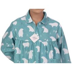 Pyjama long fille en pilou, Banquise