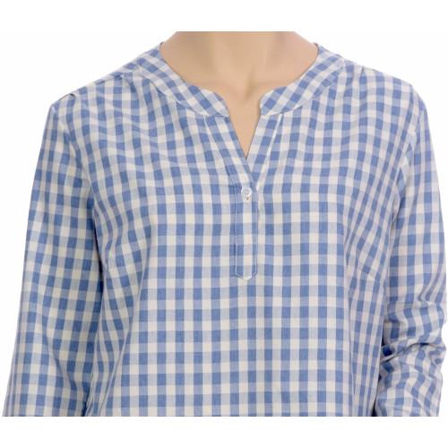 Chemise de nuit femme, forme liquette en coton Bio, Harry