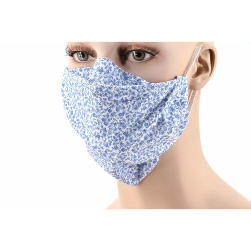 Masques barrières en popeline 100% coton.