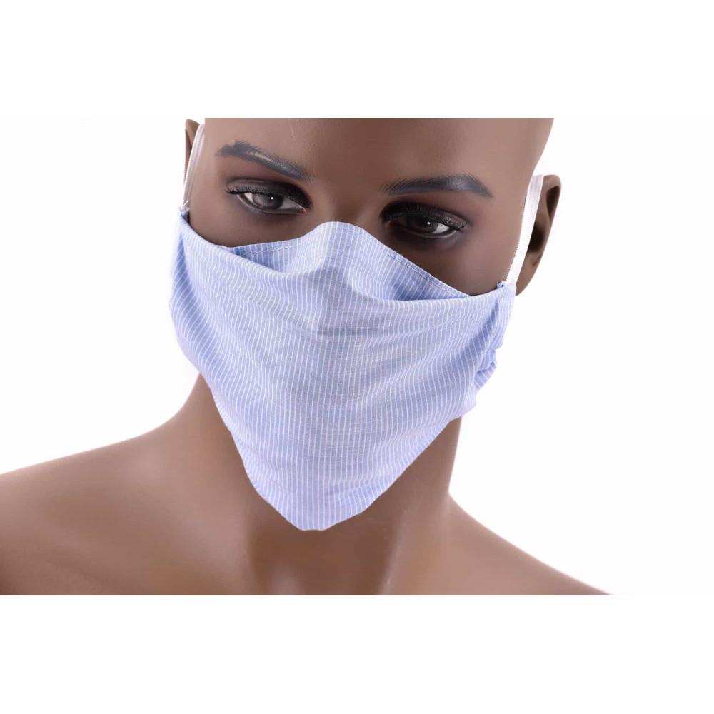 Masque de protection pour adultes en popeline 100% coton, fabrique France