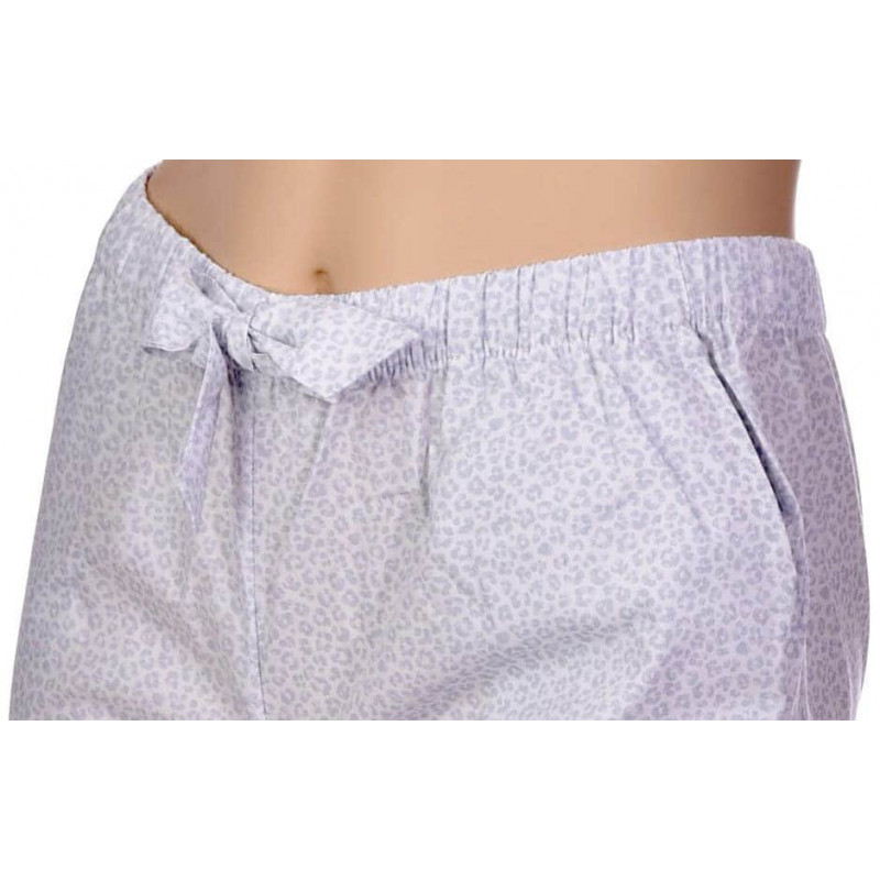 Pantalon en popeline coton Bio, Panthère Gris