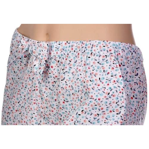 Pantalon en popeline coton Bio, Tilleul