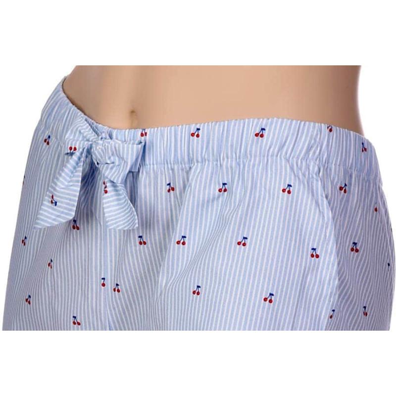 Pantalon d'intérieur en popeline coton, Cerises
