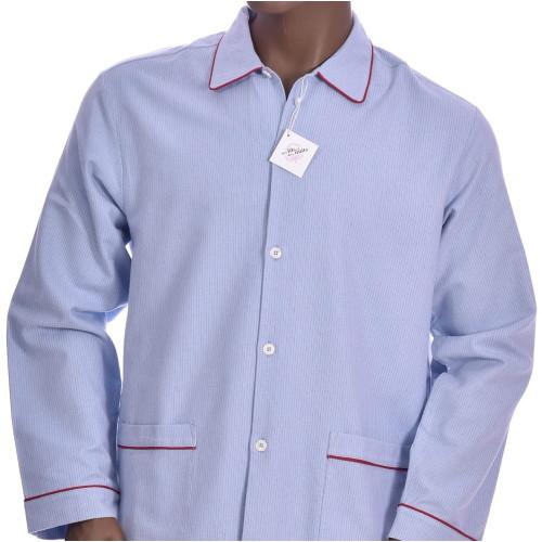 Pyjama long homme en coton pilou, Avoriaz21