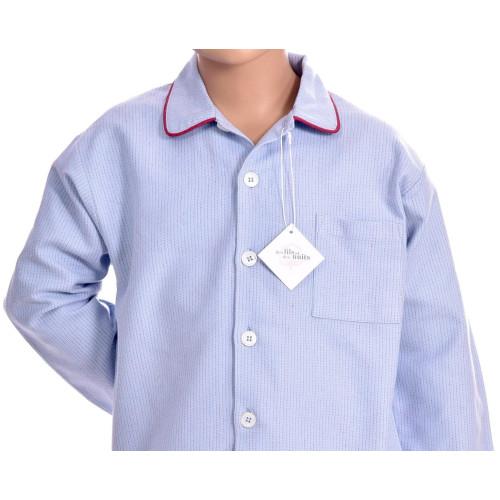 Pyjama classique garçon en pilou, Avoriaz 21