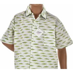 Pyjashort garçon en coton, Crocodile