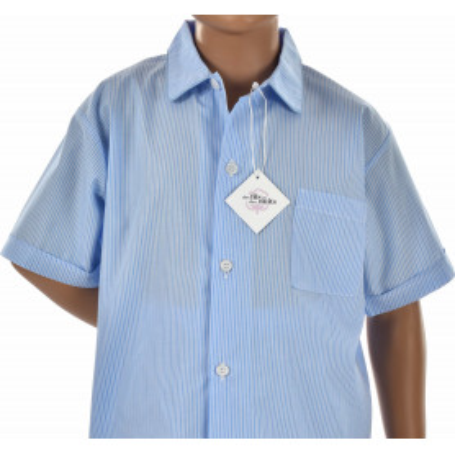 Pyjashort garçon en popeline de coton Bio, Dinard