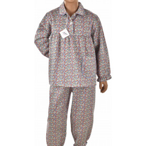 Pyjama fille en satin de coton, Liberty