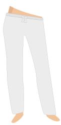 Pantalon mini